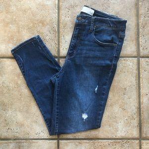 RSQ | dark wash skinny jeans